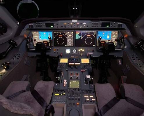 Zephyrjets Gulfstream 550